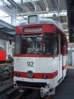 tw-92/28495/tw-92-am-090809-im-betriebshof Tw 92 am 09.08.09 im Betriebshof Neu Schmellwitz .