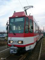 tw-170/8839/tw-170-kurz-vor-dem-einsatz Tw 170 kurz vor dem Einsatz auf der Linie 4 (23.1.2009)